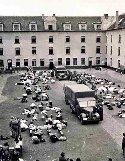 Camp de Malines - avant la déportation à Auschwitz