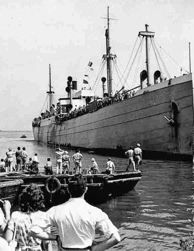 bateau pour la Palestine